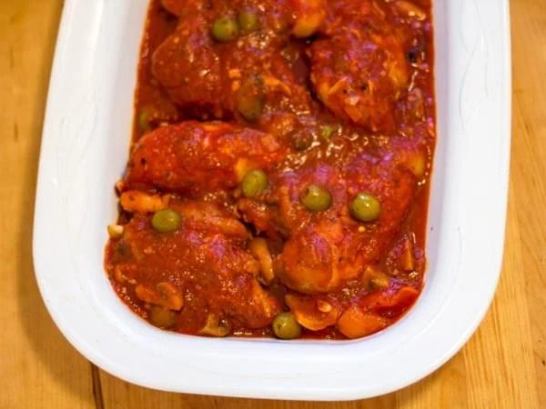Crock Pot Chicken Cacciatore-7