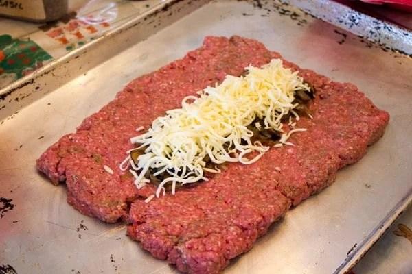 Cheesy Caramelized Onion and Portobello Mushroom Smoked Fatty-6