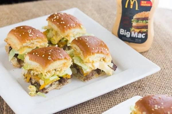Big Mac Sliders Little Macs