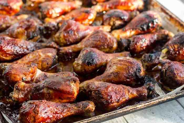 Oven Baked Chicken Drumsticks Recipe