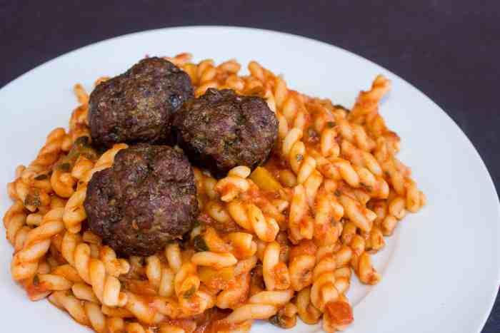 how to smoke meatballs