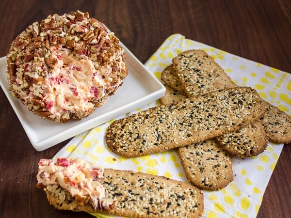 Smoked Red Pepper Cheese Ball