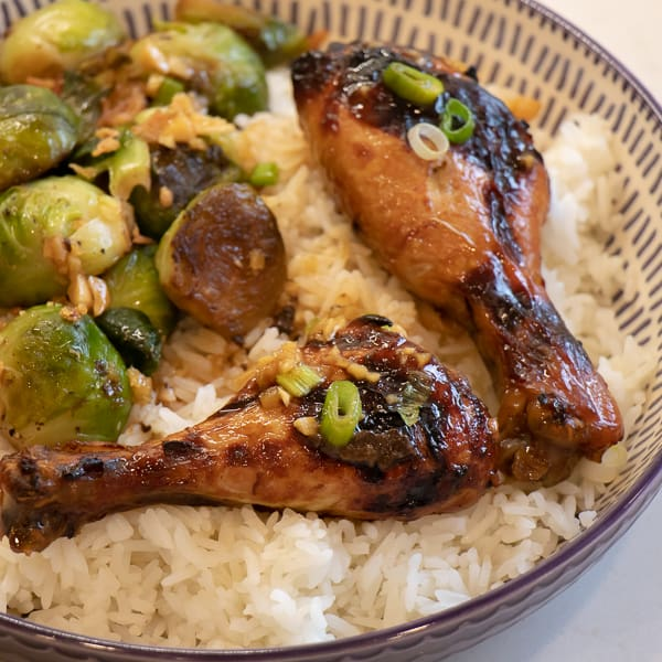 How to bake chicken leg drumsticks in the oven with this simple recipe.
