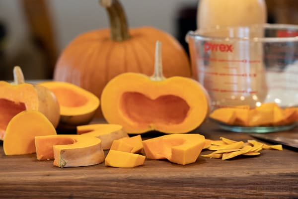 creamy butternut pumpkin coconut milk soup recipe