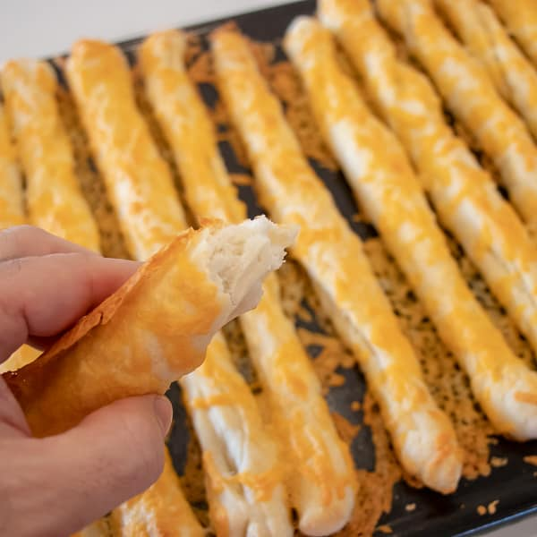 How to make cheese breadsticks at home with this simple recipe.