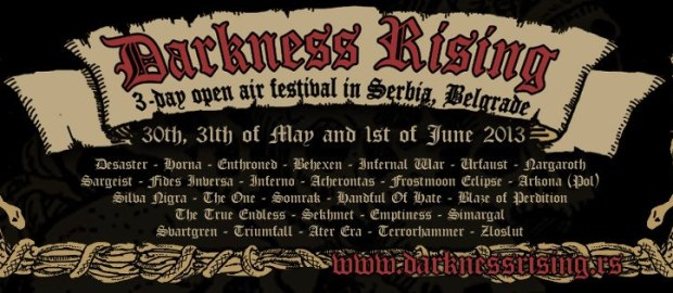 DARKNESS RISING FESTIVAL 2014 is not going to happen