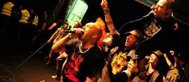 THE EXPLOITED frontman is still in hospital