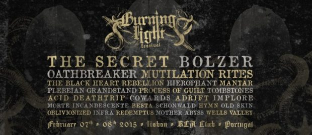BURNING LIGHT FEST: band bill completed