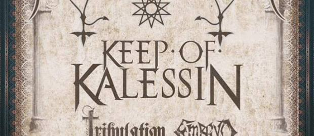 MELECHESH, KEEP OF KALESSIN, TRIBULATION and EMBRYO together on a europen tour