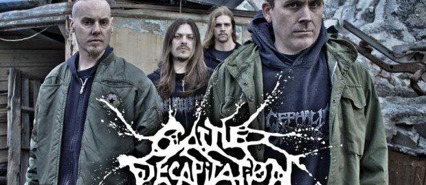 CATTLE DECAPITATION finish new album