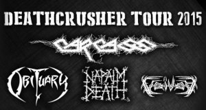 Deathcrusher tour sold out in Portugal