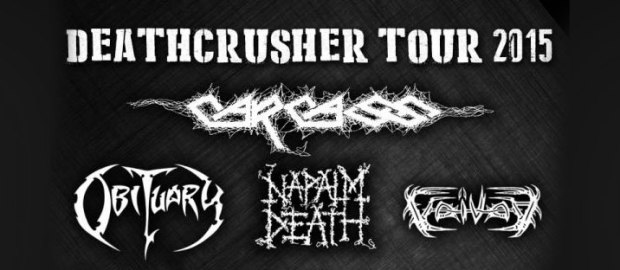 CARCASS joins NAPALM DEATH, OBITUARY, VOIVOD For 'Deathcrusher' tour