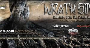 WRATH SINS – final billing for their upcoming show revealed