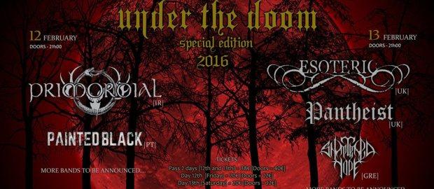 UNDER THE DOOM Fest announces new bands