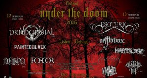 Under the Doom with CARMA closing the band bill