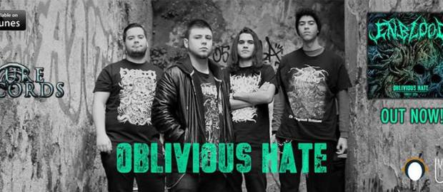 """ENBLOOD release lyric video for """"Oblivious Hate"""""""