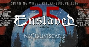 NE OBLIVISCARIS confirmed as support band in ENSLAVED 25th Anniversary european tour
