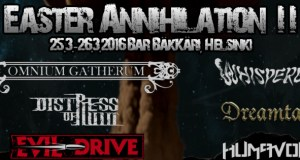 PREVIEW: EASTER ANNIHILATION 2016, Helsinki
