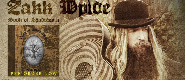 "Zakk Wylde new album ""Book of Shadows II"""