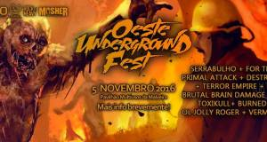 Oeste Underground Fest releases final poster and video