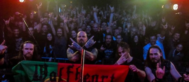 Report: Wolfheart + Eternal Storm @ RCA Club, Lisbon
