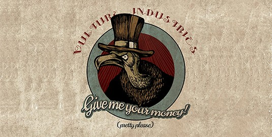 Vulture Industries upcoming album crowdfunding