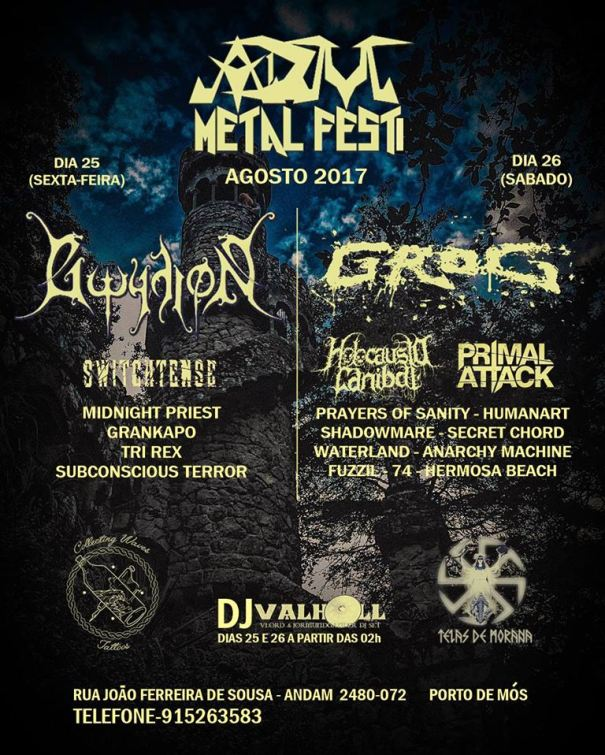 ADM Metal Fest cartaz 2017