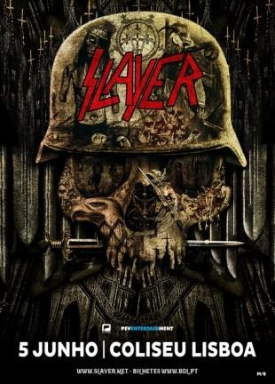 Slayer Coliseu Lisboa