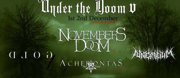 Under The Doom 2017 reveals first bands