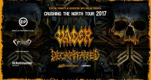 Crushing the North Tour – May 16 at Nosturi, Helsinki