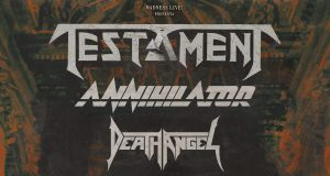 Preview: Testament + Annihilator + Death Angel @ Madrid