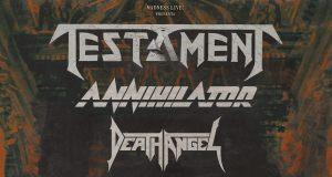 Preview: Testament + Annihilator + Death Angel @ Madrid