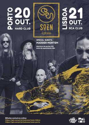 Preview: Soen @ Hard Club & RCA Club