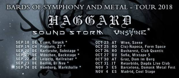 Preview: Haggard @ Leipzig