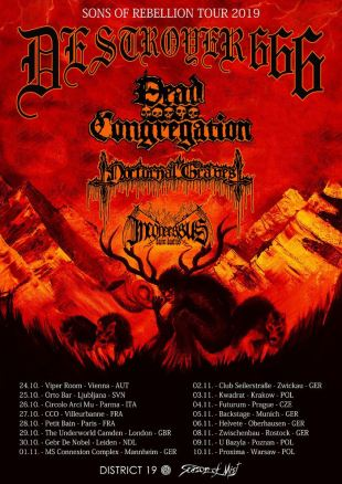 destroyer 666 tour