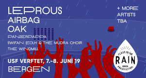 Close to the Rain, Bergen Prog Festival, is back with its third edition