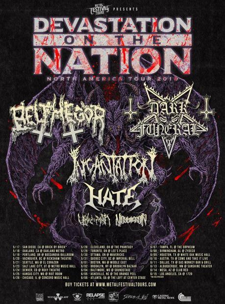 devastation of the nation tour