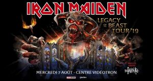 Preview: Iron Maiden @ Centre Videotron