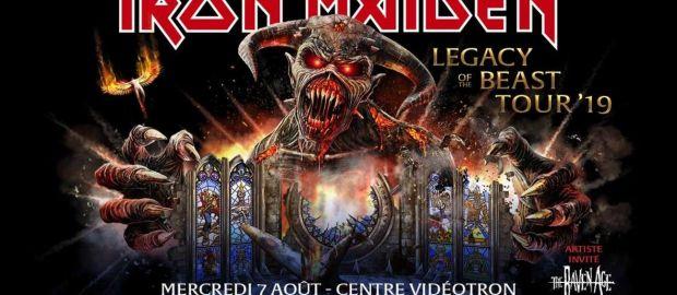 Preview: Iron Maiden @ Centre Videotron