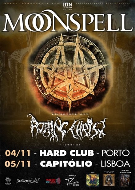 Preview: Moonspell + Rotting Christ @ Hard Club
