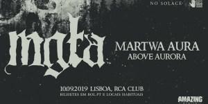 Preview: Mgła + Martwa Aura + Above Aurora @ RCA Club