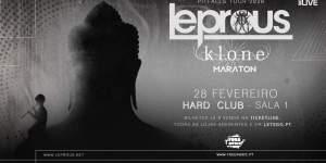 Preview: Leprous + Klone + Maraton @ Hard Club / LAV