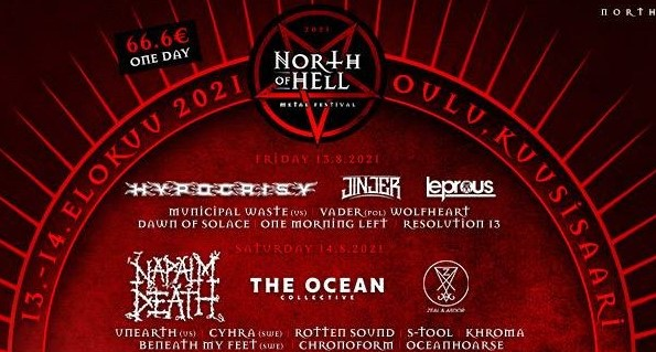 North of Hell 2021 banner