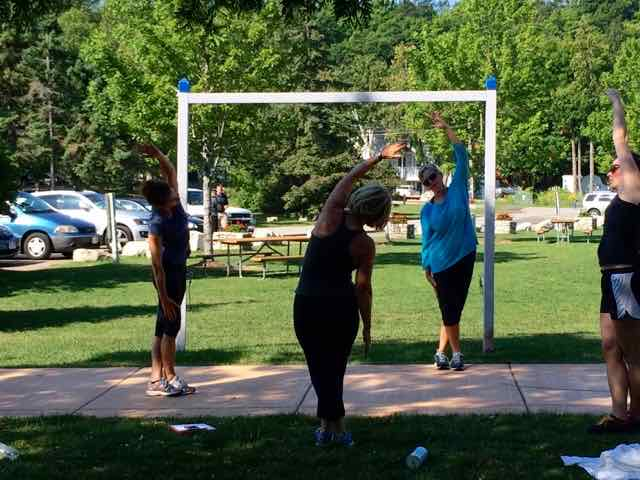 Image result for outdoor workouts