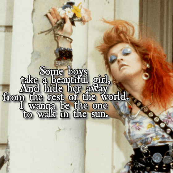 Girls Just Want to Have Fun - Cindy Lauper