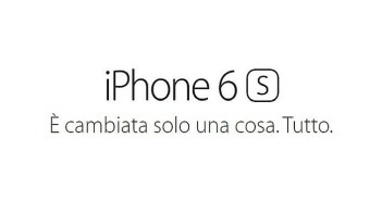iPhone 6s e 6s Plus Disponibili in Italia
