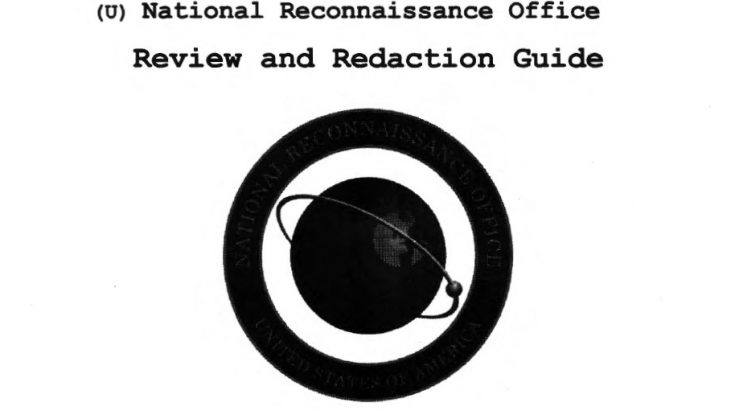 National Reconnaissance Office (NRO) Review and Redaction