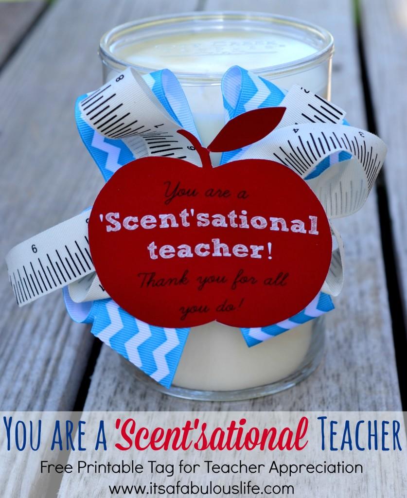 DIY Teacher Appreciation Gift Ideas - The Blessed Mess