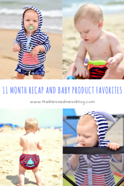 Liam 11 Month Check-in and baby product favorites