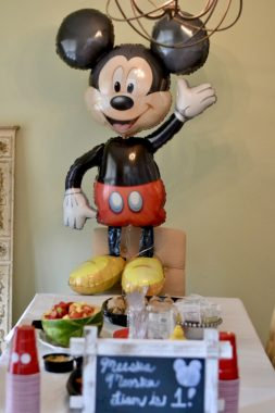 Liam's Mickey Mouse 1st Birthday Party